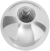Polished Steel Ball Knob -- Model 36521