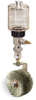(Formerly B1745-4X04), Manual Chain Lubricator, 9 oz Polycarbonate Reservoir, Roto Brush Stainless Steel -- B1745-009B1SW1W -- View Larger Image
