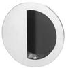 Round Flush Pull,Satin Chrome -- 95R.26D