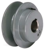 V-Belt Pulley,1.75 In OD,5/8 Bore,1GRV -- 5RHY4 - Image