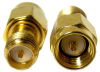 Coaxial Connectors (RF) - Adapters -- ADP-SMAM-SMAFRP-ND
