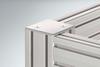 Cap 8 80x80 Zn, white aluminium, similar to RAL 9006 -- 0.0.679.73 -- View Larger Image