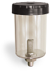 "10 Ounce Reservoir Assembly, With Filter, 1/4"" Male NPT, Pipe Mount -- A5409-1 -- View Larger Image"