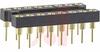 Socket, DIP;4-Fingered;16 Pos.;0.100In.cen.;Thru Hole;0.300In.;Ber. Copper;Gold -- 70207060 - Image