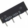 Instrumentation Grade Hg DIP Reed Relay -- MSS4 MVS4