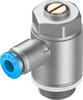 One-way flow control valve -- GRLA-3/8-QS-6-D -Image