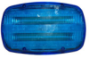LED Blue Strobe Light - 18 LEDS - Battery Powered - Dual Magnet Base - Continuous or Strobe Output -- SL-M-B