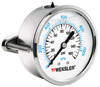 Liquid Filled Pressure Gauge -- BY12YPF4CW - Image
