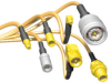 Standard RF Cable Assemblies Right Angle Plug -- MCX-P-C-XX-RA-CA2 Series