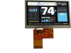 TFT Display Module -- ASI-T-430MA5FN/AH -- View Larger Image