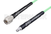 SMA Female to TNC Male Low Loss Cable 36 Inch Length Using PE-P142LL Coax, RoHS -- PE3C3205-36 -Image