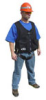 Black Safety Vest Harness -- FS 4400B