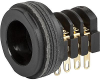 Socket, solder terminal, insulated, 7.5 mm, 4-pole, straight, UK-Connector -- 4804.2410 -Image