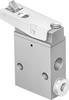 Toggle lever valve