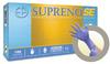 Microflex Supreno SE SU-690 Blue Medium Nitrile Powder Free Disposable Gloves - Medical Grade - Rough Finish - 9.6 in Length - 769799-69008 -- 769799-69008