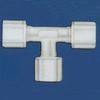 Jaco - Kynar, Nylon, And Polypropylene Tube And Hose Tee Fitting -- 61010