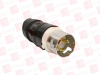 HUBBELL CS8165C ( POWER ENTRY CONNECTOR, PLUG, 3P4W GROUNDING, 3PH, 50AMP, BLACK, WHITE, NYLON (POLYAMIDE) BODY, 480 V ) -Image
