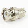 MMCX Plug to BNC Male (plug) Adapter, 1.35 VSWR -- SM3625 - Image