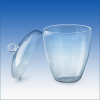 Quartz Crucibles w/Lids -- CL50