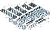 CMM Fixturing -- Basic Plastic Set