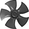 Axial AC Fans -- A3G500-AM56-21 -Image