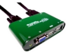 Cables Unlimited 6ft 2 Port USB KVM Switch with Audio -- SWB9000UA