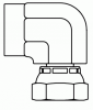 Pipe Swivel Elbow 90° -- 1502-08-08-Image