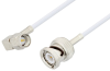 SMA Male Right Angle to BNC Male Cable 48 Inch Length Using RG188 Coax -- PE3C3437-48 -Image