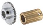 Gears with set screw hubs