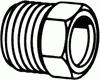 Flare Nut -- 100-03