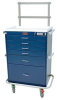 Classic Six Drawer Anesthesia Workstation Combination L.. -- 7451