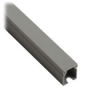 WIRE DUCT, 0.5 x 0.625 IN., 1/ PK,GRY, 2M, WITH COVER, NON-SLOTTED -- TSH-0506G-1 - Image