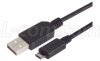 Premium USB Cable Type A - Micro B 5 Position, 2.0m -- CSMUAMICB-2M