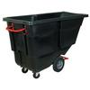1 cu. yd. - Black - Utility Grade Tilt Truck -- RUB156