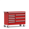 """R Mobile Multi-Drawers Cabinet with Partitions 9 Drawers (60""""W x 24""""D x 45 1/2""""H) -- R5GKE-3825 -- View Larger Image"""