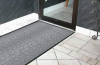 Eco-Plus Recycled Entrance Mat - Standard Sizes Black Rubber Border -- 641S0034