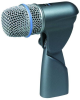 BETA Series Instrument Microphone with Integrated Stand Adapter and XLR Connector -- 34555