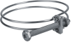 Hose clamp for securing wire-reinforced hoses SSD 60-68 ST-VZ -- 10.07.10.00017 - Image