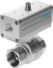 Ball valve actuator unit -- VZPR-BPD-22-R14 -Image