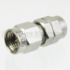 2.92mm Male (Plug) to 1.85mm Male (Plug) Adapter, Passivated Stainless Steel Body, 1.25 VSWR -- SM3970 - Image