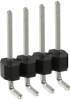 Rectangular Connectors - Headers, Male Pins -- S1312E-04-ND -Image