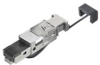 Passive Industrial Ethernet IP20 Plug-In Connector RJ45 Tool-Free -- IE-PS-RJ45-FH-BK -- View Larger Image