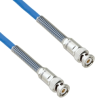 Plenum Cable Assembly TRB 3-Slot Plug to Plug with Bend Reliefs .242