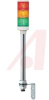 LIGHT TOWER; LAMP; PROTECTED LED; 60MM;STEADY; 24VAC/DC; LIGHTS: 3; RD OG GN -- 70007649
