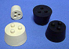 RUBBER STOPPERS - Twistit®, Rubber, White RUBBER STOPPERS - Twistit, Rubber, White, 3 -- 1143633