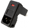 Power Entry Connectors - Inlets, Outlets, Modules -- 1-6609960-8-ND -- View Larger Image