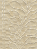 Beaded Leaves Fabric -- 9175/01 - Image