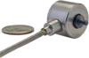 Model 31 Load Cell:, 500 lb, 15°C to 70°C [60°F to 160°F] temperature compensation, non-amplified (mV/V), Teflon® cable, 1,5 m [5 ft] cable length, radial electrical exit orie -- 060-1432-08