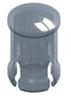 T-1 3/4 Lens Cap-Clear -- 8671 - Image