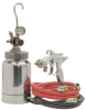Remote Cup Outfit -- SV100 2 Quart Pressure Feed outfit